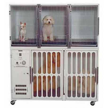 Edemco Double Cage Dryer and Stacking Cages