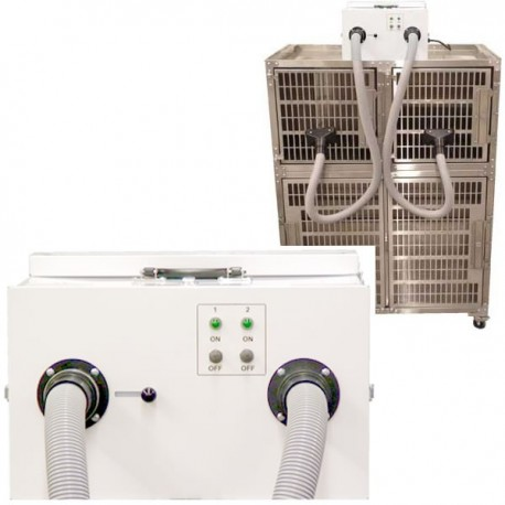Edemco White NRS Force Dryer with Noise Reduction System
