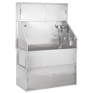 "Edemco F675SS 44"" Stainless Bathing System"