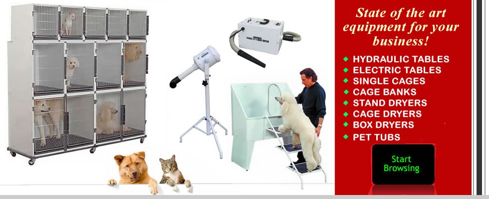 Edemco Cages, Dryers, Pet Tubs, Carts, Parts & Accessories